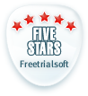Five Stars From FreeTrialSoft.com